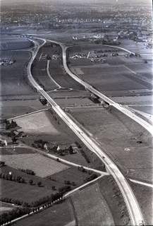 ARH NL Koberg 2894, Autobahn über die Weser, Vlotho, 1960
