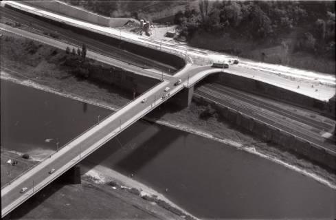 ARH NL Koberg 2905, Brücke über die Weser, Porta Westfalica, 1960