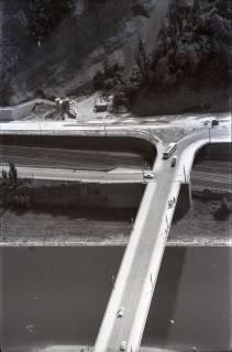 ARH NL Koberg 2906, Brücke über die Weser, Porta Westfalica, 1960