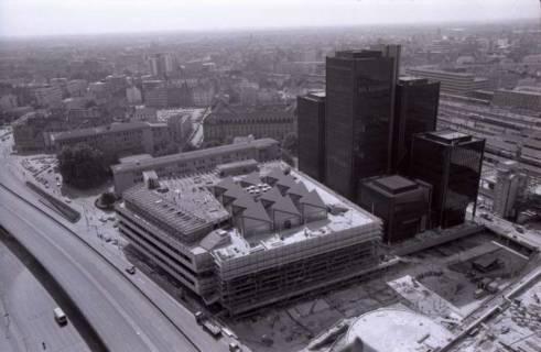 ARH NL Koberg 294, Baustelle am Raschplatz, Hannover, 1976