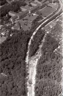 ARH NL Koberg 2966, Messeschnellweg und englisches Lazarett, Hannover, 1960