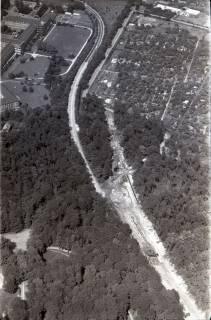ARH NL Koberg 2967, Messeschnellweg und englisches Lazarett, Hannover, 1960