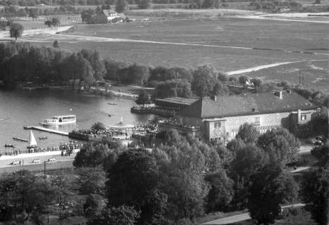 ARH NL Koberg 3008, Maschsee Nordufer, Hannover, 1950