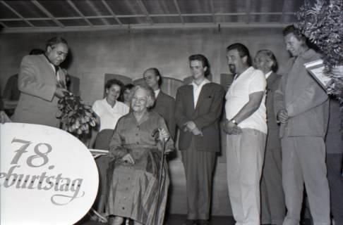 ARH NL Koberg 3071, 78. Geburtstag der Schauspielerin Tilla Durrieux, 1950