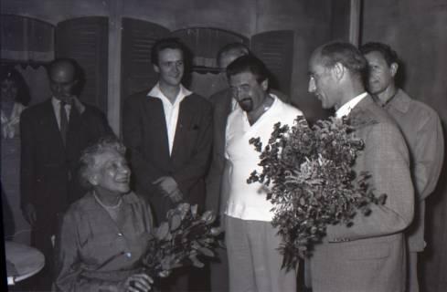 ARH NL Koberg 3072, 78. Geburtstag der Schauspielerin Tilla Durrieux, 1950