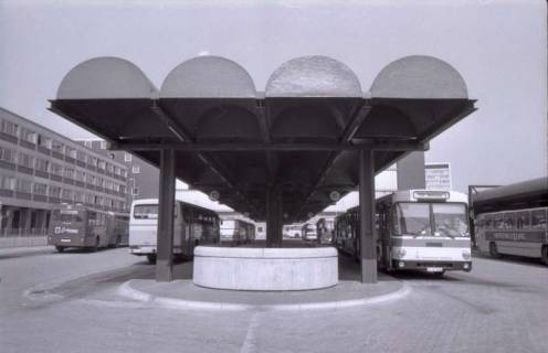ARH NL Koberg 312, ZOB (Zentraler Omnibus-Bahnhof), Hannover, 1976