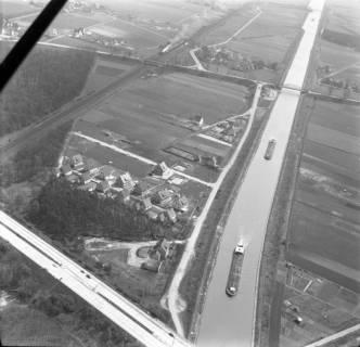 ARH NL Koberg 3174, Mittellandkanal, Autobahn und Eisenbahn, Dedensen, 1960