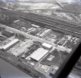 ARH NL Koberg 3181, Lagerplatz am Nordhafen, Stöcken, 1960