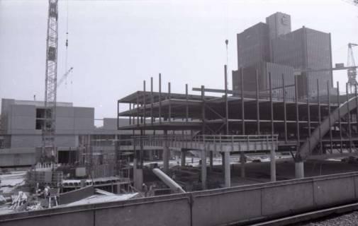 ARH NL Koberg 320, Baustelle des Parkhaus am Hauptbahnhof, Hannover, 1976