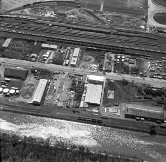 ARH NL Koberg 3249, Lagerplätze am Nordhafen, Stöcken, 1960