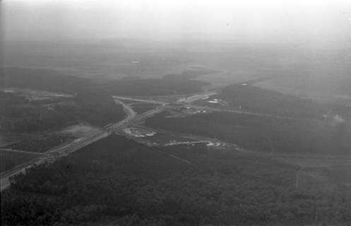 ARH NL Koberg 3264, Baustelle Autobahnkreuz Hannover-Ost (A7/A2), Lehrte, 1960