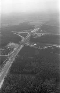 ARH NL Koberg 3265, Baustelle Autobahnkreuz Hannover-Ost (A7/A2), Lehrte, 1960