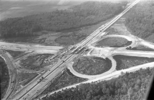 ARH NL Koberg 3270, Baustelle Autobahnkreuz Hannover-Ost (A7/A2), Lehrte, 1960
