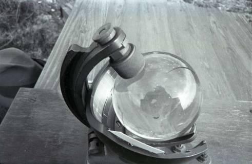 ARH NL Koberg 330, Sonnenscheinschreiber der Wetterstation Steinhude, 1972
