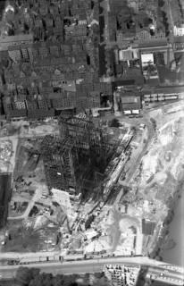 ARH NL Koberg 3372, Bau des Heizkraftwerks, Linden, 1961