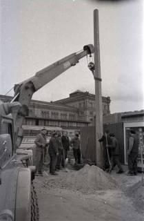 ARH NL Koberg 343, Baustelle auf dem Ernst-August-Platz, Hannover, 1972