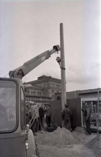ARH NL Koberg 344, Baustelle auf dem Ernst-August-Platz, Hannover, 1972