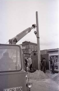 ARH NL Koberg 345, Baustelle auf dem Ernst-August-Platz, Hannover, 1972
