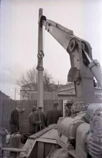 ARH NL Koberg 347, Baustelle auf dem Ernst-August-Platz, Hannover, 1972