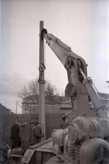 ARH NL Koberg 348, Baustelle auf dem Ernst-August-Platz, Hannover, 1972