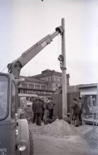 ARH NL Koberg 350, Baustelle auf dem Ernst-August-Platz, Hannover, 1972