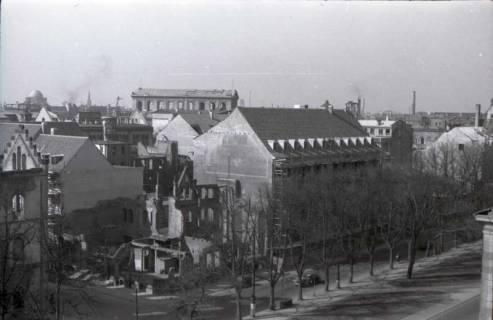 ARH NL Koberg 362, Blick vom Schiffgraben auf die Prinzenstraße, Hannover, zwischen 1948/1949