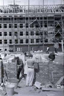 ARH NL Koberg 378, Wohnungsbau in der Kleestraße, Hannover, zwischen 1948/1949