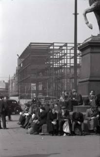ARH NL Koberg 385, Bau der neuen Hauptpost am Ernst-August-Platz, Hannover, zwischen 1948/1949