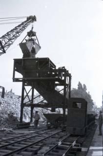 ARH NL Koberg 400, Trümmerbeseitigung in der Ständehausstraße, Hannover, zwischen 1946/1948