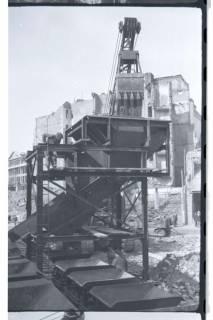 ARH NL Koberg 402, Trümmerbeseitigung in der Ständehausstraße, Hannover, zwischen 1946/1948
