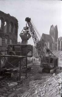 ARH NL Koberg 405, Trümmerbeseitigung in der Ständehausstraße, Hannover, zwischen 1946/1948