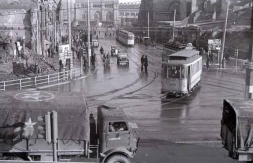 ARH NL Koberg 411, Kriegszerstörung in der Bahnhofstraße, Hannover, 1946