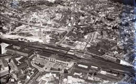 ARH NL Koberg 428, Hauptbahnhof mit Ernst-August-Platz, Hannover, 1957