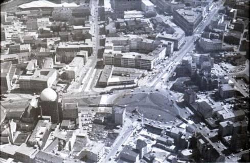 ARH NL Koberg 444, Steintor und Anzeiger-Hochhaus, Hannover, 1957