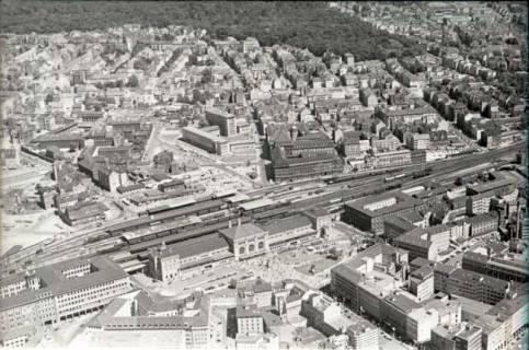 ARH NL Koberg 470, Hauptbahnhof mit Ernst-August-Platz, Hannover, 1957