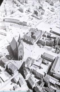 ARH NL Koberg 471, Marktkirche und Karmarschstraße, Hannover, 1957