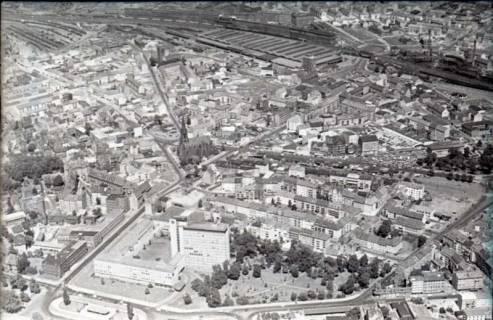 ARH NL Koberg 482, Luftbild von Hannover, 1957