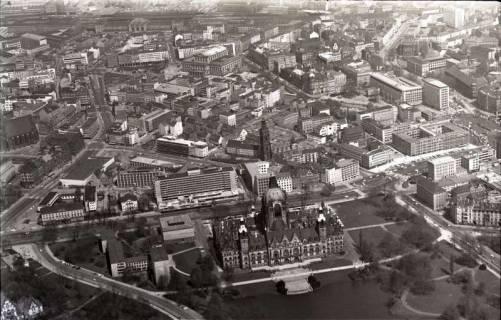 ARH NL Koberg 511, Rathaus, Aegidienkirche und Hotel Intercontinental, Hannover, 1965