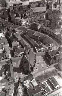ARH NL Koberg 517, Marktkirche und Karmarschstraße, Hannover, 1965