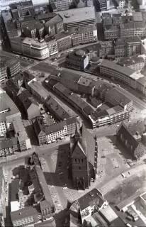 ARH NL Koberg 518, Marktkirche und Karmarschstraße, Hannover, 1965