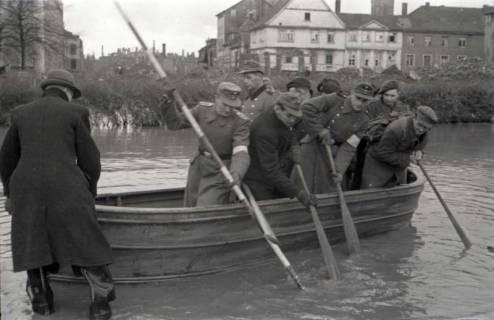 ARH NL Koberg 536, Leine-Hochwasser in der Calenberger Neustadt, Hannover, ohne Datum