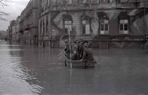 ARH NL Koberg 538, Leine-Hochwasser in der Calenberger Neustadt, Hannover, ohne Datum