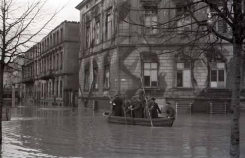 ARH NL Koberg 539, Leine-Hochwasser in der Calenberger Neustadt, Hannover, ohne Datum