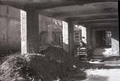 ARH NL Koberg 550, Trümmerbeseitigung in der Odeonstraße, Hannover, 1946