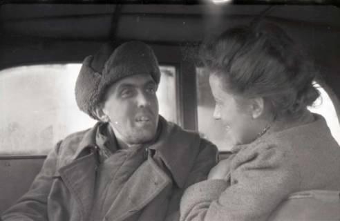ARH NL Koberg 557, Heimkehr aus der Kriegsgefangenschaft in Russland, wohl 1949
