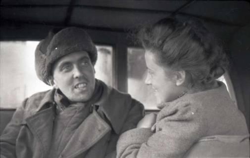 ARH NL Koberg 559, Heimkehr aus der Kriegsgefangenschaft in Russland, wohl 1949
