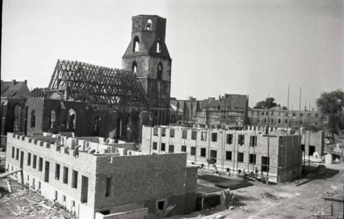 ARH NL Koberg 713, Neubauten um die zerstörte Kreuzkirche, Hannover, 1946