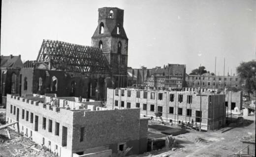 ARH NL Koberg 714, Neubauten um die zerstörte Kreuzkirche, Hannover, 1946