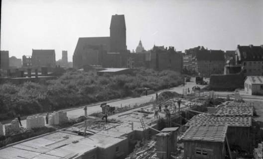 ARH NL Koberg 715, Neubauten um die zerstörte Kreuzkirche, Hannover, 1946