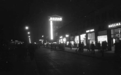 ARH NL Koberg 718, Kröpcke bei Nacht, Hannover, 1948